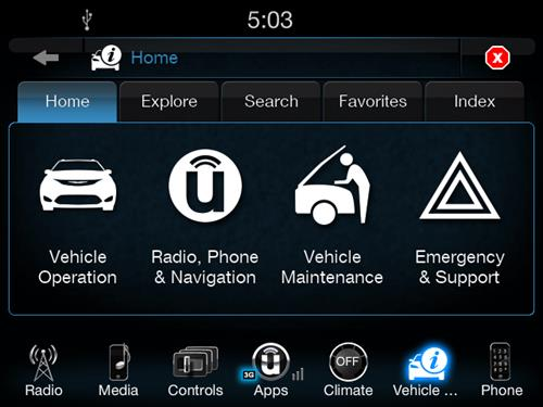 uconnect guide connects owner s manual info on screen on 2017 rh autoconnectedcar com Jeep Uconnect Compatible Phones 2014 Dodge Caravan Uconnect