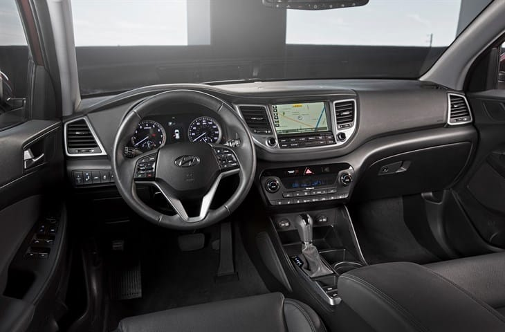 2017 Tucson fully connected car features: Android Auto