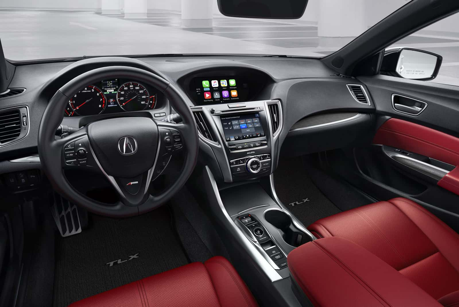 2018 Acura Tlx Tech Advances Include Le Carplay Android Auto And Acurawatch