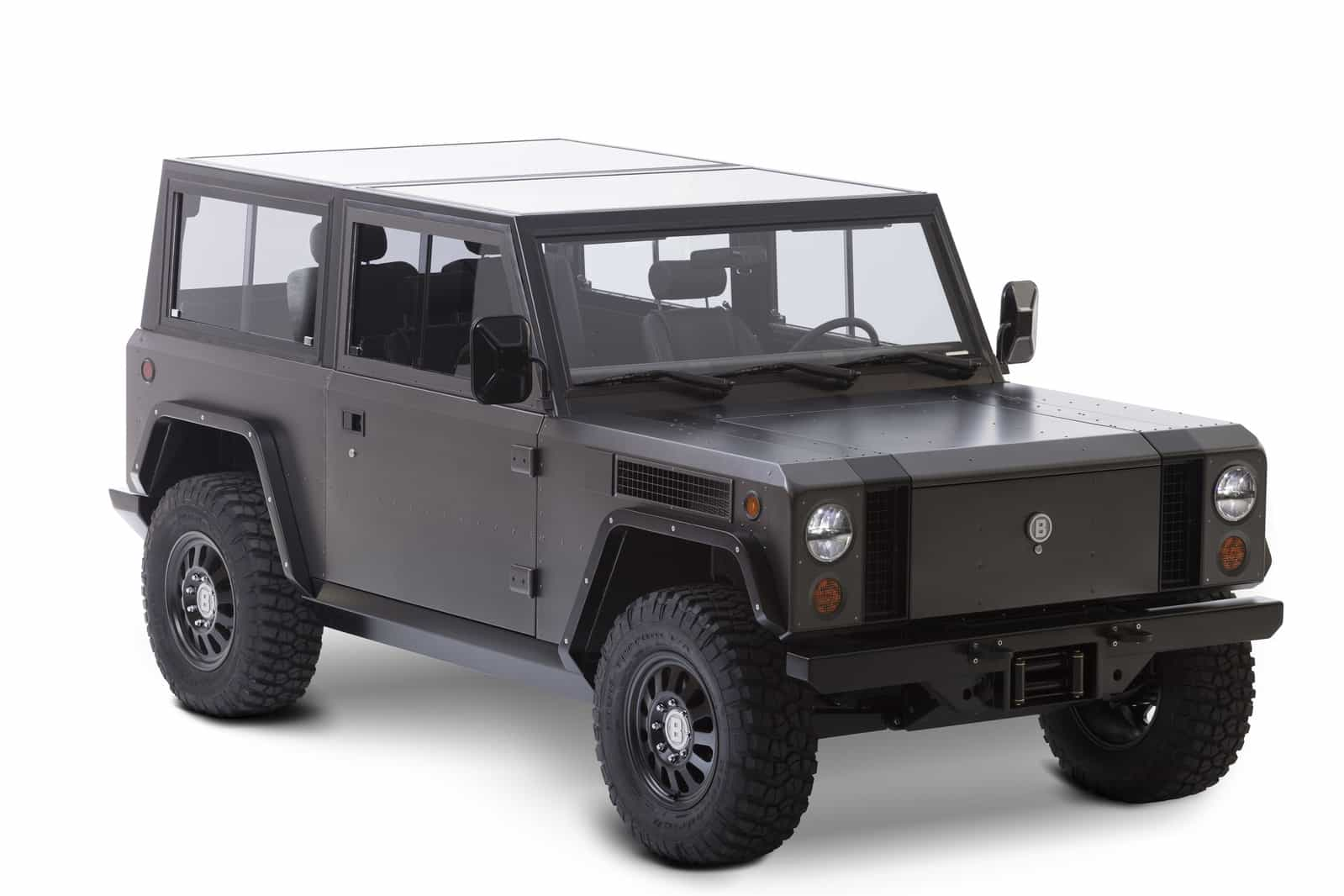 First New Electric Sport Utility Truck B1 Bollinger Motors Jeep Land Rover Modernized Auto Connected Car News
