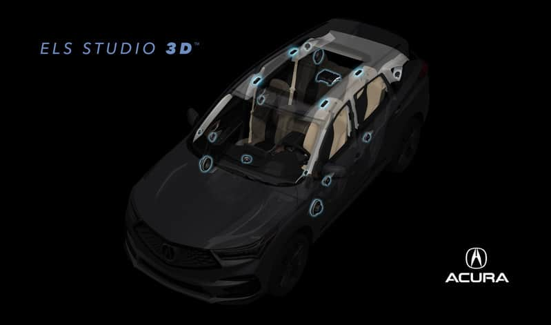 3D Sound in Acura RDX from ELS Studio 3D | auto connected car news