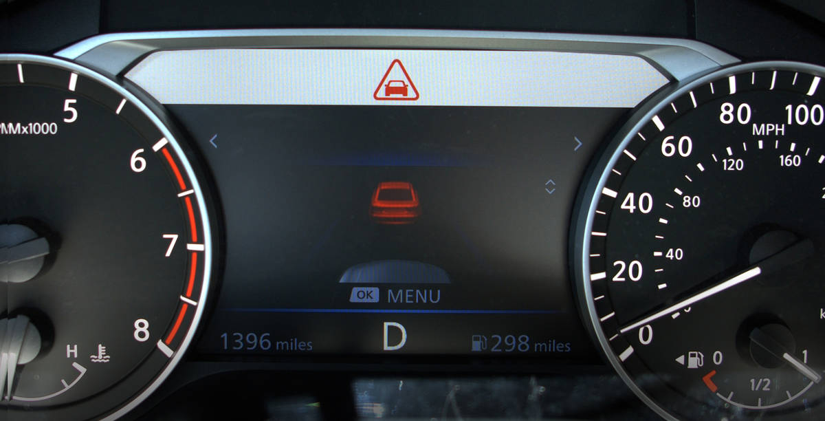 Is Your Nissan Automatic Emergency Braking Broken with Sensor
